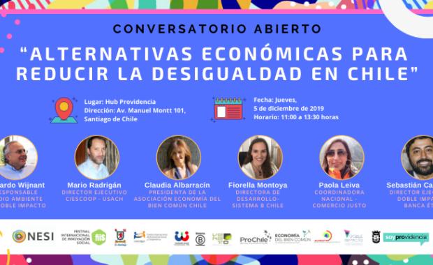 Chile desigualdad Nuevas Economías